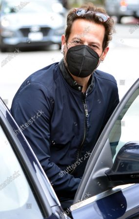 Editorial photo of Exclusive - Ioan Gruffudd out and about, West Hollywood, Los Angeles, California, USA - 15 Mar 2021