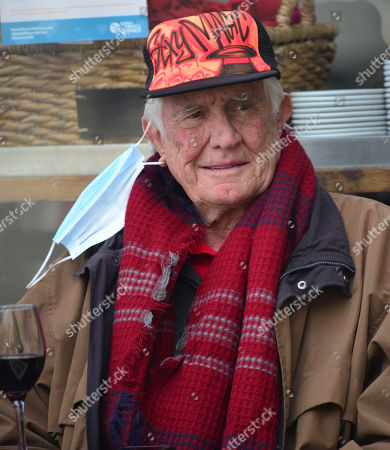 Editorial image of Exclusive - George Lazenby out and about, Santa Monica, Los Angeles, California, USA - 15 Mar 2021