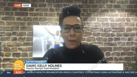 Editorial image of 'Good Morning Britain' TV Show, London, UK - 16 Mar 2021