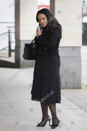 Editorial image of Claudia Webbe Court Appearence, London, UK - 16 Mar 2021