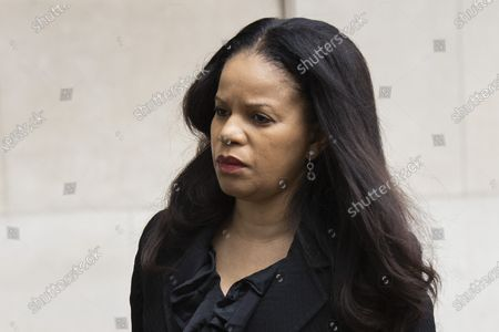 Stock Picture of MP Claudia Webbe arrives at Westminster Magistrates Court .She is charged with one count of harassment and the trial is expected to last for one day.
