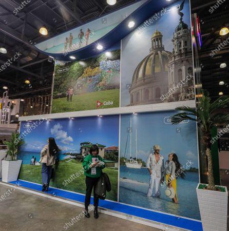 Editorial photo of Cuban Tourism Minister Juan Carlos Garcia Granda attends 27th International travel show MITT in Moscow, Russian Federation - 16 Mar 2021