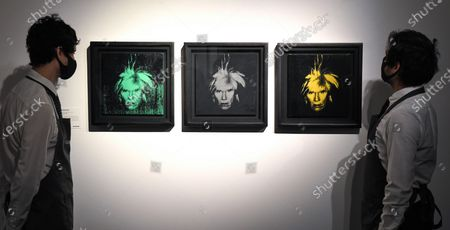 Andy Warhol, Three Self-Portraits, Executed in 1986, Estimate: £1,200,000-1,800,000