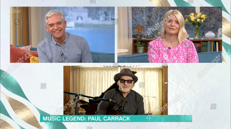 Holly Willoughby, Phillip Schofield, Paul Carrack