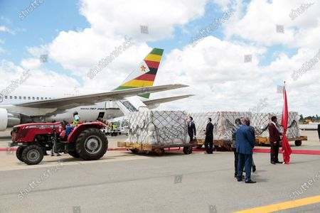 Editorial photo of Zimbabwe receives second batch of covid-19 vaccine, Harare - 16 Mar 2021