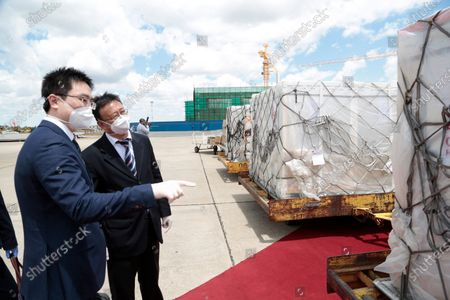 Editorial image of Zimbabwe receives second batch of covid-19 vaccine, Harare - 16 Mar 2021