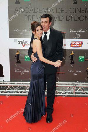 Daniel McVicar and wife Mazy