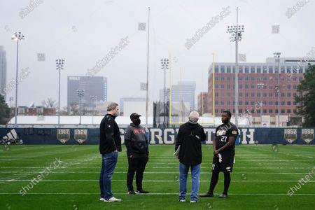 Editorial image of Georgia Tech NFL Pro Day Football, Atlanta, United States - 16 Mar 2021