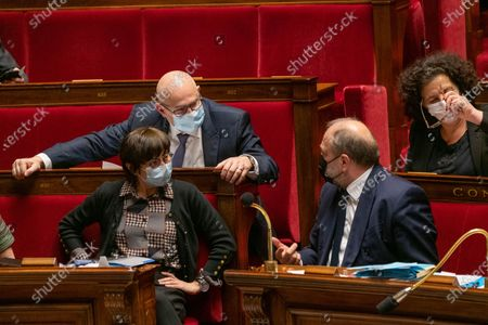Editorial photo of Weekly session of questions to the government at the French National Assembly, Paris, France - 16 Mar 2021
