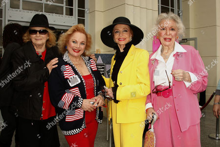 Angie Dickinson, Carol Connors, Anne Jeffreys and Ann Rutherford