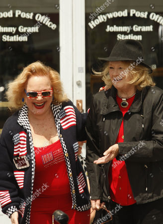Carol Connors and Angie Dickinson