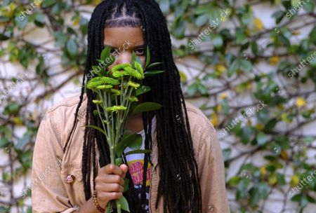"""Grammy-winning songwriter Starrah poses for a portrait in Beverly Hills, Calif., on . The hitmaker for the likes of Drake, Rihanna, Maroon 5, Camila Cabello, Nicki Minaj, Halsey and Katy Perry is releasing her debut full-length album """"Longest Interlude"""" this month"""