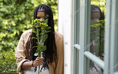 Editorial picture of Starrah Portrait Session, Beverly Hills, United States - 16 Sep 2020