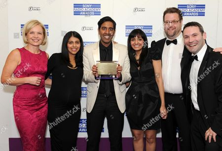 Editorial picture of Sony Radio Academy Awards, Grosvenor House Hotel, London, Britain - 10 May 2010