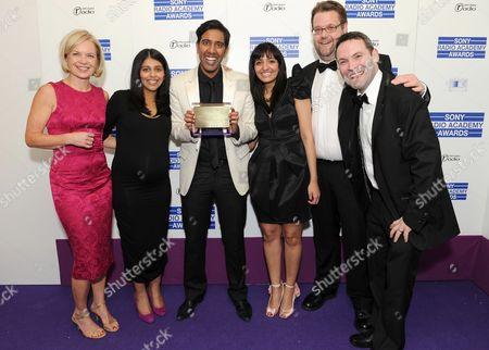 Editorial image of Sony Radio Academy Awards, Grosvenor House Hotel, London, Britain - 10 May 2010