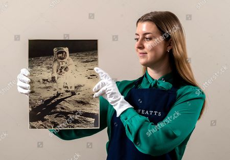 Editorial picture of Historic Space Photography auction at Dreweatts, Newbury, Berkshire, UK - 16 Mar 2021