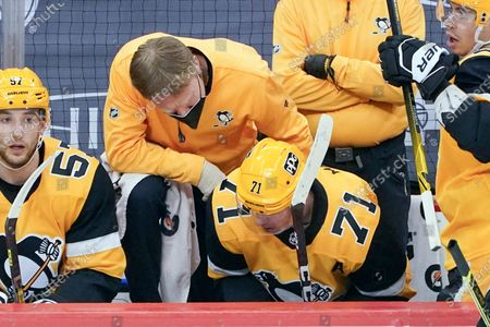 Editorial picture of Bruins Penguins Hockey, Pittsburgh, United States - 16 Mar 2021