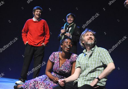 Rupert Simonian (Roy), Harry McEntire (Philip), Tanya Moodie (Harriet), Pearce Quigley (James)