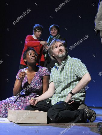 Editorial picture of 'A Thousand Stars Explode in the Sky' play at The Lyric Theatre Hammersmith, London, Britain - 10 May 2010