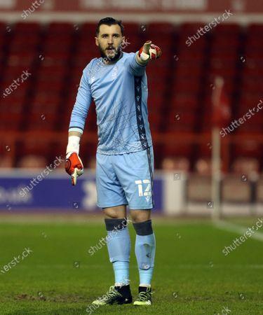 Nottingham Forest's Jordan Smith