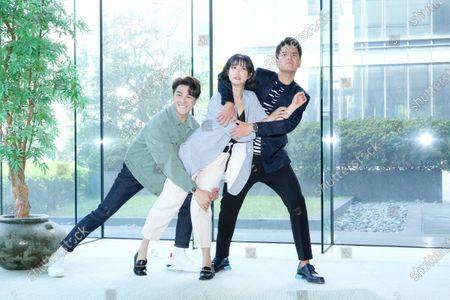 Megan Lai, KingOne Wang and Melvin Sia