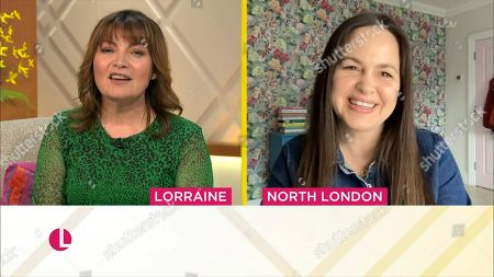Stock Picture of Lorraine Kelly and Giovanna Fletcher