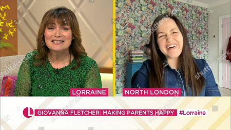 Lorraine Kelly and Giovanna Fletcher