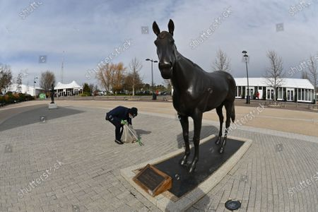 Editorial picture of Cheltenham Festival, Horse Racing, Cheltenham Racecourse, UK - 17 Mar 2021