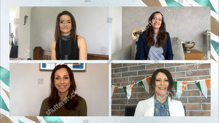Stock Picture of Edele Lynch, Keavy Lynch. Lindsay Armaou and Sinead O'Carroll