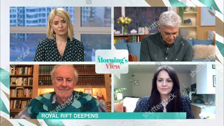 Stock Picture of Holly Willoughby, Phillip Schofield, Gyles Brandreth and Beverley Turner