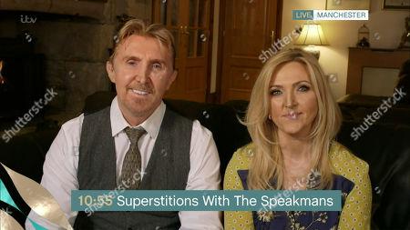 Nik Speakman and Eva Speakman
