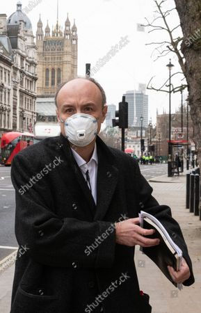 Editorial image of Dominic Cummings Science Commmittee hearing, Westminster, London, UK - 17 Mar 2021