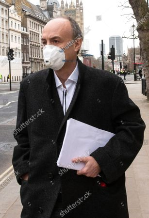Editorial picture of Dominic Cummings Science Commmittee hearing, Westminster, London, UK - 17 Mar 2021