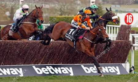 PUT THE KETTLE ON (Aidan Coleman) wins The Betway Queen Mother Champion Chase Cheltenham
