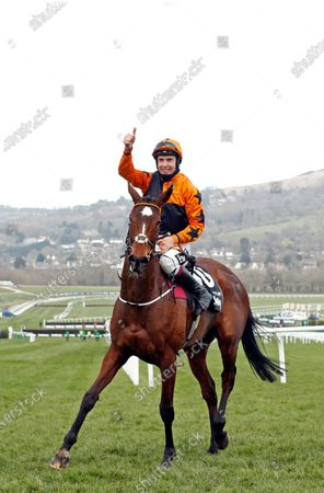 PUT THE KETTLE ON (Aidan Coleman) after The Betway Queen Mother Champion Chase Cheltenham