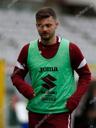 Karol Linetty during Serie A match between Torino v Sassuolo in Turin, on March 14, 2021