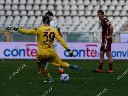 Salvatore Sirigu during Serie A match between Torino v Sassuolo in Turin, on March 14, 2021