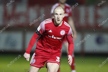 David Morgan of Accrington Stanley  during the EFL Sky Bet League 1 match between Accrington Stanley and Sunderland at the Fraser Eagle Stadium, Accrington