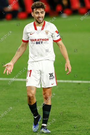 Munir El Haddadi of Sevilla FC
