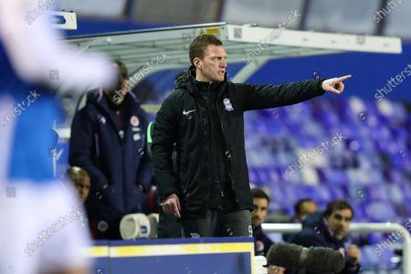 Birmingham City coach Craig Gardner