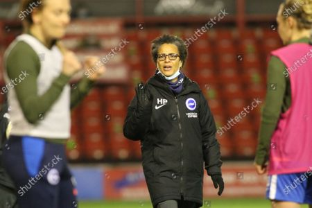 Stock Picture of Hope Powell (Brighton & Hove Albion Manager)