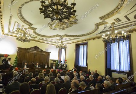 Editorial image of Vatican Youth Seminary, Vatican City, Vatican City - 31 Jan 2015