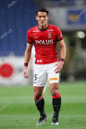 Tomoaki Makino (Reds) - Football / Soccer :  2021 J1 League match  between Urawa Red Diamonds 0-0 Hokkaido Consadole Sapporo  at Saitama Stadium 2002, Saitama, Japan.