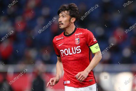 Yuki Abe (Reds) - Football / Soccer :  2021 J1 League match  between Urawa Red Diamonds 0-0 Hokkaido Consadole Sapporo  at Saitama Stadium 2002, Saitama, Japan.