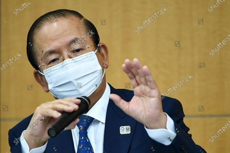 Editorial picture of Tokyo 2020 President Seiko Hashimoto holds press conference, Japan - 18 Mar 2021