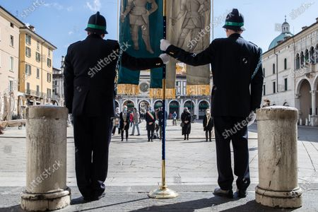 Editorial photo of First National Day In Memory Of The Coronavirus Victims In Italy, Brescia - 18 Mar 2021
