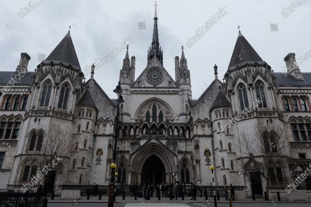 A view of the Royal Courts of Justice as Johnny Depp's legal team applies for permission to appeal, and to rely on further evidence in a bid to overturn last year's ruling in the libel claim against The Sun and its publisher News Group Newspapers over an article labelling him a wife beater, on 18 March, 2021 in London, England. The ruling by a High Court judge Mr Justice Nicol following a three-week trial in July last year found that the claims in the article were substantially true and that the US actor had assaulted his ex-wife Amber Heard.