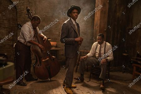 Stock Image of Michael Potts, Chadwick Boseman, Colman Domingo