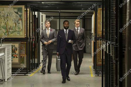 Jack Cutmore-Scott, John David Washington, Robert Pattinson