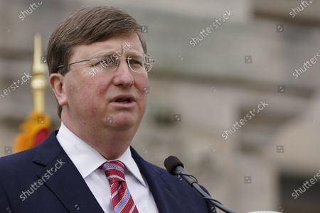 Mississippi Gov. Tate Reeves delivers his State of the State speech, in Jackson, Miss. Congress just sweetened the incentives for states to extend Medicaid insurance coverage to more low-income adults, but the dozen Republican-controlled states that have spent years resisting expanding the programs have no plans to change course now. Gov. Reeves says he's not going for it, noting that his stance was a major issue in his 2019 campaign. His GOP primary opponents supported a plan to expand, with the state's share being paid for by hospitals and a fee of up to $20 a month for people who signed up. He opposed it, even as the Mississippi Hospital Association said it could bring up to 19,000 jobs to the state
